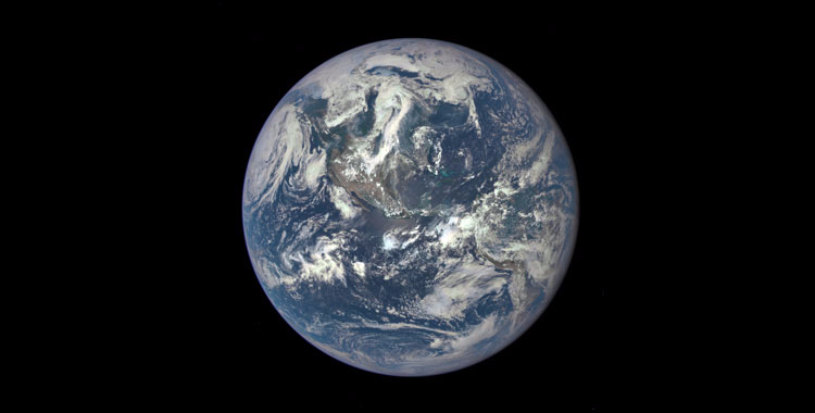 Beautiful Blue Marble